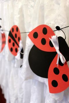 Lovebug 2nd Birthday Party via Kara's Party Ideas | Kara'sPartyIdeas.com #lovebug #ladybug #2nd #birthday #party #ideas #supplies #decorations