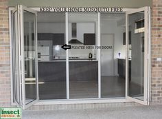 Glazed Pleated Mesh System For Double Windows Sliding Windows, Windows And Doors, Sliding Doors, Enclosed Porches, Wooden Screen, Wooden Shutters, Mesh Screen, Double Glazed Window, House