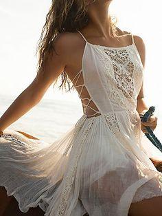 FP One Fp One Louisa Mini Dress at Free People