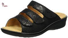 Ganter Hera, Weite H, Mules Femme, Noir-Noir (0100), 39 EU - Chaussures ganter (*Partner-Link)