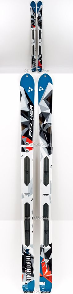 Ski Touring 104636: 170 Fischer Hannibal 94 Alpine Touring Skis 2016 17 Profoil Climbing Skins -> BUY IT NOW ONLY: $625 on eBay!