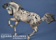 "Appaloosa, nice custom work. Another Sue Mink sculpt ""Tango"""