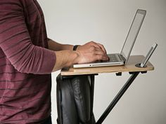 StorkStand amazing compact portable desk design