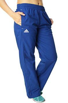 4cdc425763 Amazon.com  Adidas Women s Woven Warm Up Pants-Small Royal  Sports    Outdoors