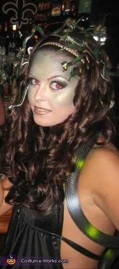 Medusa - 2013 Halloween Costume Contest via @costumeworks
