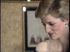 Princess Diana attends Starlight gala Arrival at Starlight cabaret at Hilton for gala talking to Marti Webb