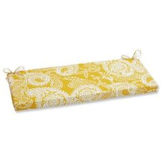 Addie Egg Yolk Loveseat Cushions