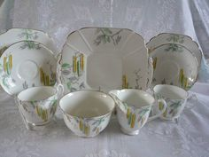 ART DECO TEA FOR TWO £35
