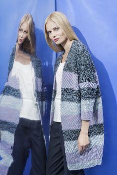 Naisen helmineuletakki Novita Nordic Wool | Novita knits