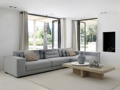 Karin Meyn   Combine grey into your home with the warm colour of wood (Piet Boon Collection)