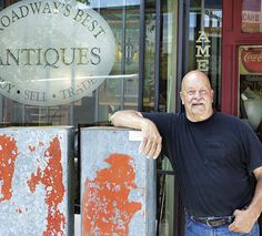 In with the Old, Out with the New. Find your one of a kind item on Tacoma's Antique Row. Ron Adamson, Broadway's Best Antiques.