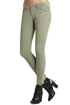 Twisted-Seam Skinny Jean