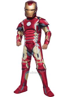 Kids Iron Man Costume Deluxe, Avengers: Age of Ultron - General Kids Costumes at Escapade™ UK - Escapade Fancy Dress on Twitter: @Escapade_UK
