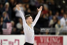 News Photo : Adam Rippon of the United States performs during...