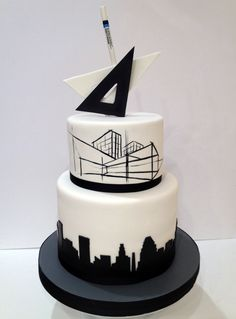 Architect's Retirement cake For La Cakerie