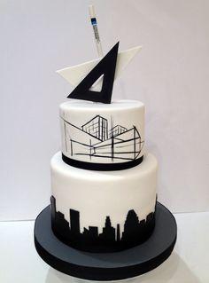 Architect's Retirement cake For La Cakerie