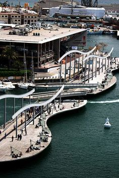 Port #Barcelone