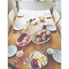 #saturday#morning#brunch#home#family#visit#from#falster#hygge#breakfast#livingroom ☕☀ #Padgram