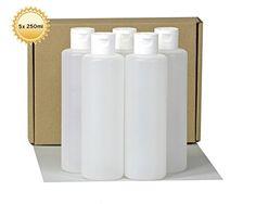 5 x 250 ml Kunststoffflaschen rund mit weissem Klappversc... https://www.amazon.de/dp/B016WLK6P4/ref=cm_sw_r_pi_dp_x_2F88ybEFNSAT2