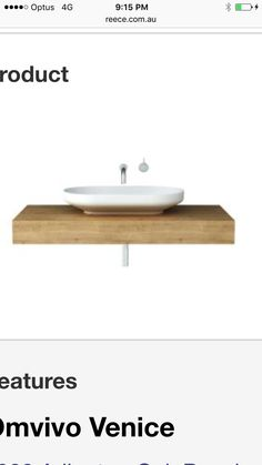 Downstairs basin and vanity