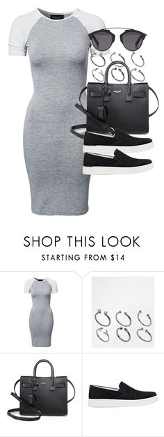 """Style #11370"" by vany-alvarado ❤ liked on Polyvore featuring Club L, ASOS, Yves Saint Laurent, Prada Sport and Christian Dior"