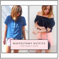 Mastectomy Outfits That Don't Suck : Wait, she only has one breast?? No way! YES WAY
