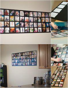 Bienvenid@s:. 20 originales maneras de decorar con fotografías que derrochan estilo y buen gusto. Ahora que todos llevamos una cámara fotográfica equipada en nuestro teléfono móvil, tenemos la suerte de poder guardar nuestros mejores momentos....