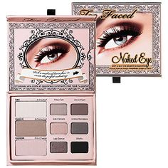 Wedding makeup product: This spring, less is more. Get the perfect nude eye with the Too Faced Naked Soft Eye palette. It's perfectly sized, versatile, and includes eye charts to show you how to get the look. https://www.facebook.com/rickiramey