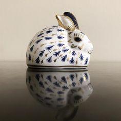 Royal Crown Derby Porcelain China Bunny Rabbit Figurine | Etsy Royal Crown Derby, Crown Royal, Unique Vintage, Vintage Items, Ceramic Decor, China Porcelain, Bunny Rabbit, Green And Brown, Accent Decor