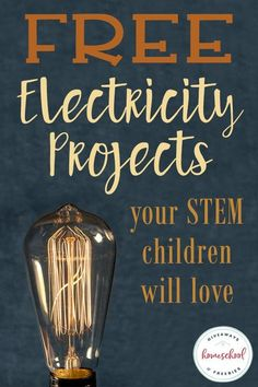 best=FREE Electricity Projects Your STEM Children Will Love Homeschool Giveaways Simplicity Dresses Stem Projects, Science Fair Projects, Science Experiments, School Projects, Energy Projects, Science Lessons, Life Science, School Ideas, Electricity Projects For Kids
