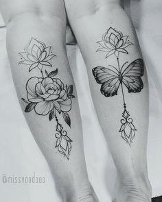 Miss Voodoo tattoo