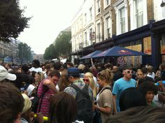Notting Hill Carnival on the weekend, the atmosphere was amazing!! :D