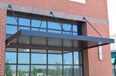 MASA Architectural Canopies: The leader in canopies for storefronts, extruded aluminum canopy, aluminum frame awnings and custom canopy systems, outdoor & metal awnings. Awning Roof, Metal Awning, Awning Canopy, Window Awnings, Metal Roof, Mall Facade, Shop Facade, Corrugated Roofing, Corrugated Metal