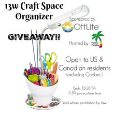 Ottlite Review and Giveaway