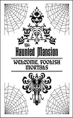 The First Two Parts Of This Series Can Be Found Here And Here When Disney Decided To Publish Haunted Mansion Halloween Disney Scrapbook Disney Halloween