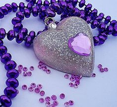what's not to love.....hearts and the color purple!  :)