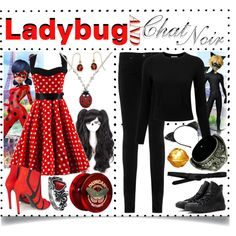 Miraculous ~ Outfits for Ladybug + Chat Noir / / I'm honestl ...
