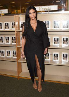 Kim Kardashian Photos - Kim Kardashian West Book Signing For 'Selfish' - Zimbio