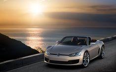 Volkswagen Bluesport Sunset Wallpaper Free Download. Resolution 1920x1200 px - GreatCarWallpaper ID 3877