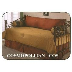 It's a twin bed but I rather like the colors. Daybed Comforter, Comforter Cover, Daybed Covers, Earth Tone Colors, House Rooms, Comforters, Beds, Twin, Couch