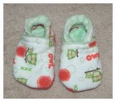 make soft sole baby shoes, free pattern several sizes