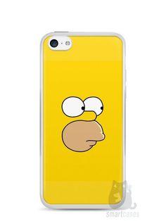 Capa Iphone 5C Homer Simpson Face - SmartCases - Acessórios para celulares e tablets :)