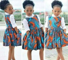 African Print Kid's Dress – Kid's Full Flared Dress- Ankara Print – Ankara Dress – Handmade – Africa Clothing – African Fashion – Mahiber Ankara Styles For Kids, African Dresses For Kids, African Children, African Print Dresses, African Print Fashion, African Fashion Dresses, African Attire, African Wear, Africa Fashion