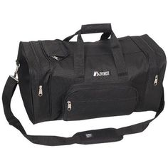 8244cd95a Everest Luggage Classic Gear Bag - Small, Black, Black, One Size