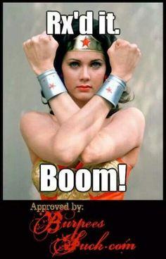 Crossfit Wonder woman