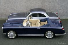 Facel Vega FV2B convertible, 1956.P&B.