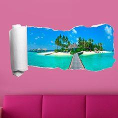 Oltre 1000 idee su carta da parati spiaggia su pinterest for Carta adesiva 3d