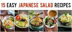 15 Easy Japanese Salad Recipes | Just One Cookbook @justonecookbook