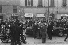 Sandro Pertini, président et son #alfaromeo Alfa 6