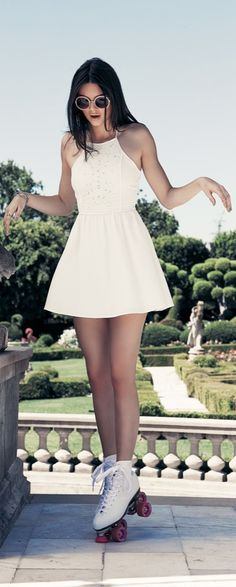 Kendall Jenner models the Kendall & Kylie for PacSun Summer 2015 collection.